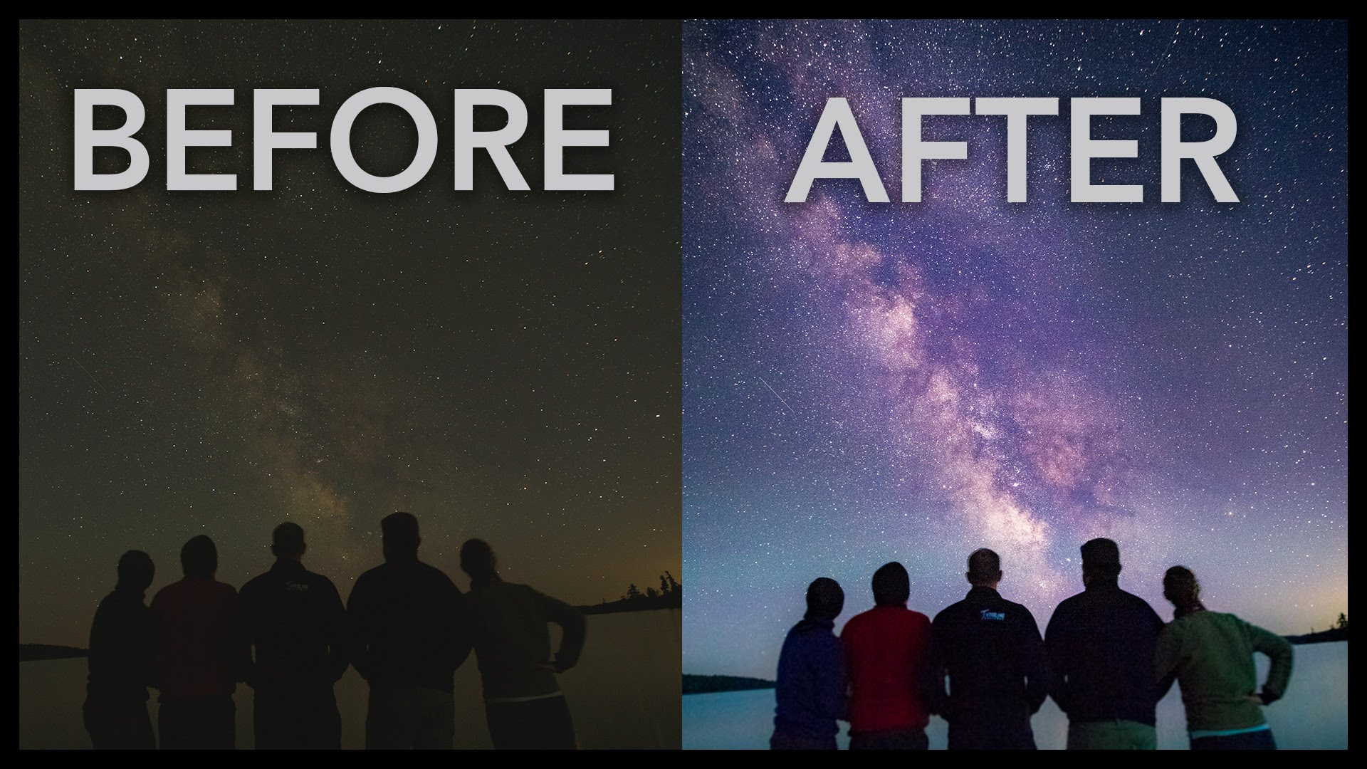 Before After Milkyway
