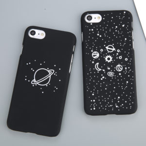 Fashion iPhone case with stars and planets 01