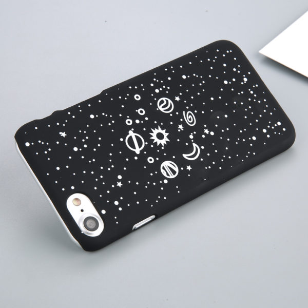 Fashion iPhone case with stars and planets