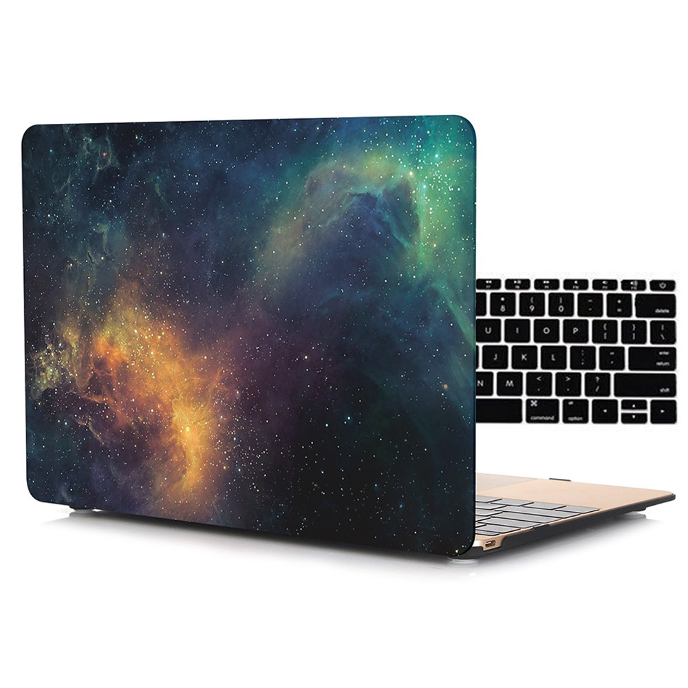 Marble Galaxy Hard Case For Macbook
